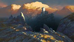Landscape_04, Andrei Pervukhin on ArtStation at http://www.artstation.com/artwork/landscape_04