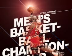 """Check out new work on my @Behance portfolio: """"Men's Basketball Championship - Poster"""" http://be.net/gallery/48011845/Mens-Basketball-Championship-Poster"""