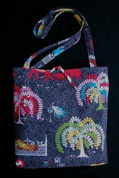 a bag I made with a zippered, padded ipad pocket.