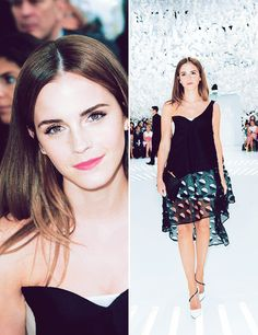 #howtobephotogenic #EmmaWatson #DailyMom - WEAR A BEAUTIFUL OUTFIT. If you know there are going to be photos taken, don't be afraid to glam it up a bit. Add a pair of heels! This will help with your posing and improve your posture.