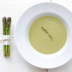 Asparagus and Leek Soup #HealthyAperture