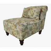 Found it at Wayfair - Classic Floral Slipper Chair