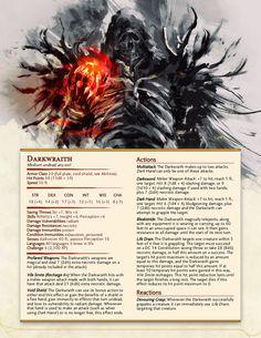 Dungeons And Dragons Classes, Dungeons And Dragons Characters, Dungeons And Dragons Homebrew, Dnd Characters, Monster Book Of Monsters, Dnd Monsters, Fantasy Rpg, Dark Fantasy Art, Skyrim