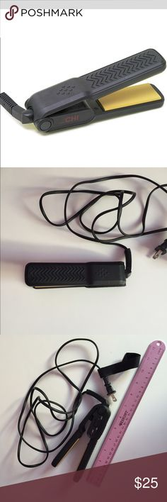 Mini chi hair straightener Chi mini hair straightener. I like new condition. Perfect travel size. Other