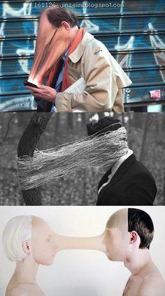 Grasping Hand of Mind = Attention by Antoine Geiger + Self-Portrait By Ben Zank + Juuke Schoorl