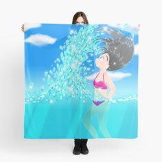 'Beach Splash' Scarf by konapple