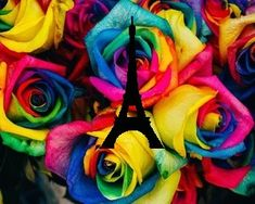 shared by Ahsle on We Heart It Heart Sign, We Heart It, Colorful Roses, Find Image, Painting, Roses, Painting Art, Paintings, Painted Canvas