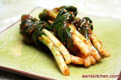 Green Onion Kimchi | Aeri's Kitchen | Cooking Korean Recipes & Food