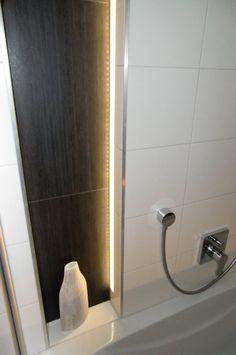 Naturstein Mit Led Beleuchtung Indirekt | Klinker Grau | Pinterest ... Badezimmer Klinker