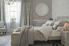 Idee camera da letto color tortora - Camera da letto raffinata