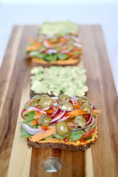 LOADED AVOCADO & HUMMUS VEGGIE SANDWICH » can a sandwich get any more epic? {plant-based, vegan}