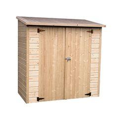 Aki bricolaje jardiner a y decoraci n armario madera box for Caseta para bicis