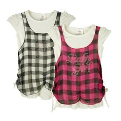 Girls Plaid Style Dresses Case Pack 12