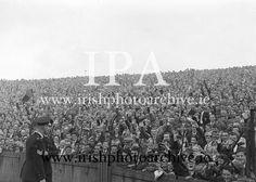 Image of Football - 1960 - Down vs Kerry Croke Park, Dublin Ireland, Photo Archive, Irish, Football, Concert, Gallery, Shadows, 1960s