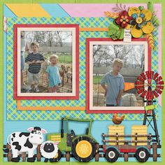 2 For The Money - LissyKay Designs, Howdy Farmer - Marie H. Designs