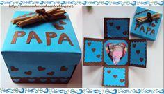 Cantinho Alternativo: Lembrancinha Caixa Surpresa Para o Papai