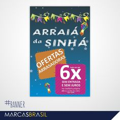 Banner – Sinhá Moça > Desenvolvimento de banner para loja Sinhá Moça < #banner #marcasbrasil #agenciamkt #publicidadeamericana