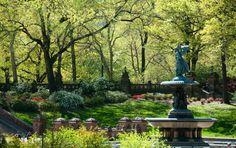Central Park Spring | Spring in Central Park: Bethesda Terrace