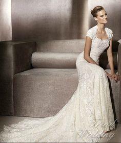 lace empire wedding dresses