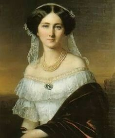 Princess Josephine of Baden, c. 1850
