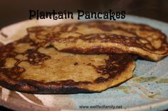 Plantain Pancakes - coconut milk and plantains give this breakfast a tropical flavor