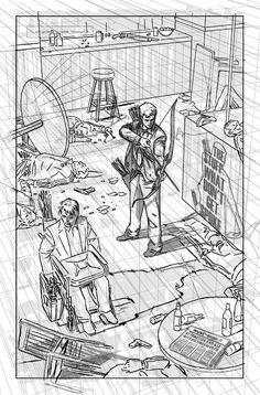 David Aja  Hawkeye #19, page 20