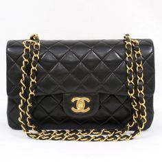 Vintage Chanel 2.55 Double Flap Chain Shoulder Bag aka the most gorgeous bag in the entire world.