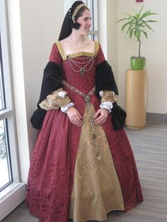 Henrician Period Gown