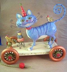 Cheshire Cat  by thesnippets, via Flickr