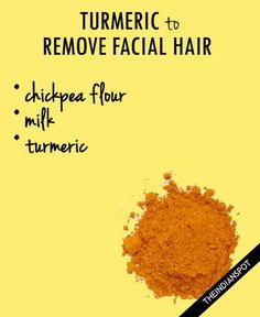 Turmeric For Facial Hair Remedies – Mix some turmeric with milk to make a thick paste. Then apply it on your face. After it dries off, rub it off using gentle circular motions. This would not…