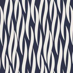 "Stoff retro - BW Stoff ""Iconic"" Zebra dunkalbelau U... - ein Designerstück von Kathi-Kunterbunt bei DaWanda"