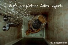 Crying in the shower photography dark girl water sad blackandwhite Photo Triste, Girls In Shower, Bath Girls, Crying In The Shower, First World Problems, Mystique, Wattpad, Dark Photography, Sadness Photography