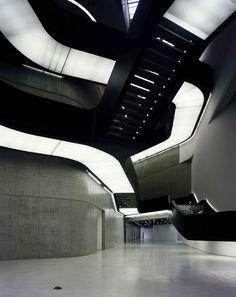 MAXXI Museum, Rome, Italy Zaha Hadid