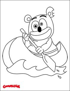 download a free printable gummibr coloring page september 2015 httpwww