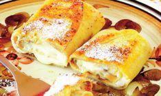 clatite la cuptor Lasagna, French Toast, Breakfast, Ethnic Recipes, Food, Morning Coffee, Essen, Meals, Yemek