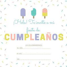 99 Invitaciones de cumpleaños para niños y niñas para imprimir - Las Mejores Imagenes online