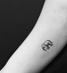 75 Big And Small Elephant Tattoo Ideas - Brighter Craft - 75 Big And Small Elep. - 75 Big And Small Elephant Tattoo Ideas – Brighter Craft – 75 Big And Small Elep… – 75 Big - Mini Tattoos, Dainty Tattoos, Unique Tattoos, Cute Tattoos, 3d Tattoos, Tattos, Detailliertes Tattoo, Form Tattoo, Shape Tattoo