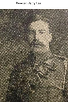 Gunner Harry Lee