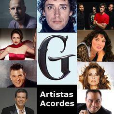 Artistas con G (Lista ) canciones con letras y acordes de guitarra y piano