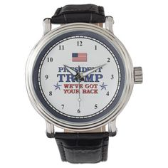 Trump Got Your Back Watch #trumptower #Trumplicans #TrumpProtest , back to school, aesthetic wallpaper, y2k fashion Vintage Leather, Vintage Men, Watch Diy, Trump Is My President, Out Of Style, Classic Looks, Customized Gifts, Back To School, Kids Shop