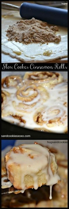 Your life is about to change! Cinnamon rolls made in the slow cooker!!! How awesome does that sound? And easy, too! This dough comes together with just a few ingredients. Add your topping, roll & cut and into the crockpot they go. Finish them off with a lovely glaze and you'll have the perfect breakfast, …