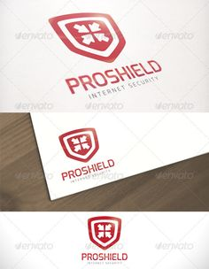 Pro Shield Internet Security Logo Template - DOWNLOAD NOW
