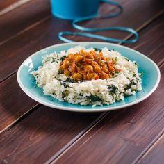 Csicseriborsó curry spenótos rizzsel Recept képekkel -   Mindmegette.hu - Receptek