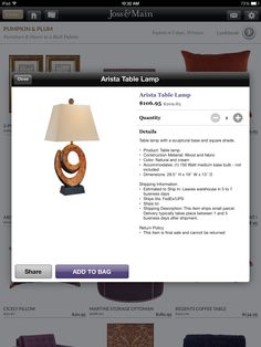 Love this lamp and the price.  Has all the features I like for this space.