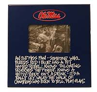 Ole Miss Fan Frame, $24.00