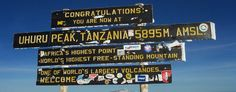 Countdown to Kilimanjaro -- a really nicely written blog that I look forward to reading EVERY WORD.