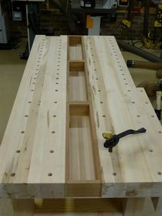 Roubo/21st Blend Workbench - by WoodWrangler @ LumberJocks.com ~ woodworking community