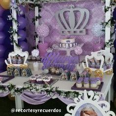 Candy bar princesa sofia de @recortesyrecuerdos
