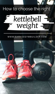 A mistake that most men and women make when using the kettlebell is choosing a weight that is too heavy before they learn the proper form. Find out how to avoid mistakes here. #HomeGym #GarageGym #HomeFitness #CrossFit