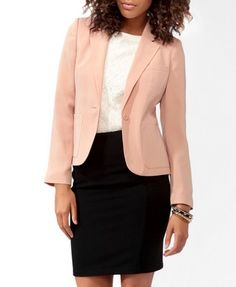Blazer for a Fashionista on a budget - like a #rollingindebts budget